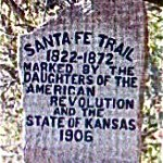 Typical existing Trail marker